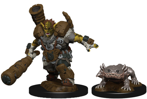 WizKids Wardlings: W4 Mud Orc & Mud Puppy