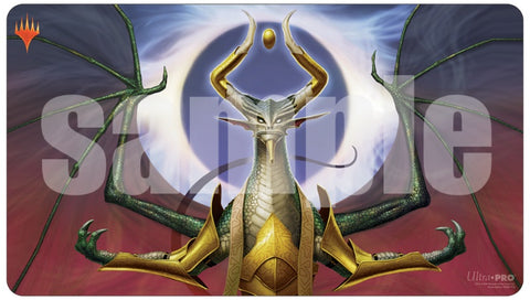 Magic the Gathering CCG: War of the Spark Japanese Atl. Art Playmat - Bolas