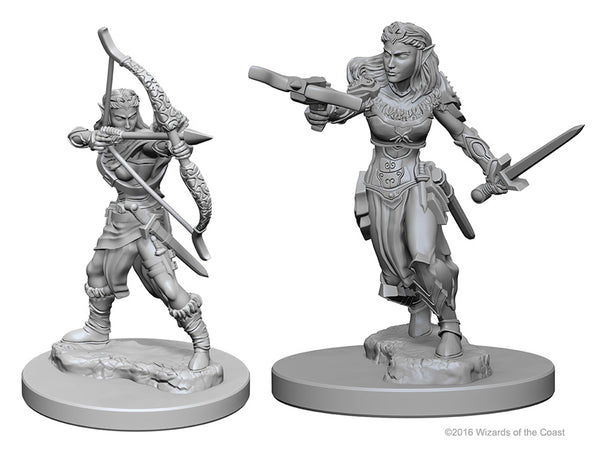 Dungeons & Dragon's Nlzur's Marvelous Unpainted Miniatures: W1 Elf Female Ranger