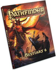 Pathfinder RPG: Beastiary 6 (Pocket Edition) (1st Edition)