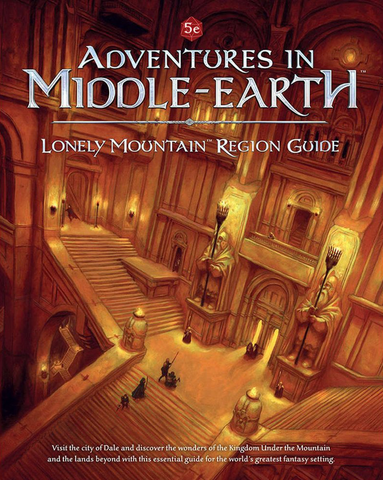 Dungeons & Dragons RPG: Adventures in Middle-Earth - Lonely Mountain Region Guide
