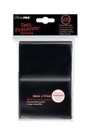 Deck Protector Pack: Black Solid 100ct