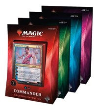 Magic the Gathering CCG: Commander 2019 (4)