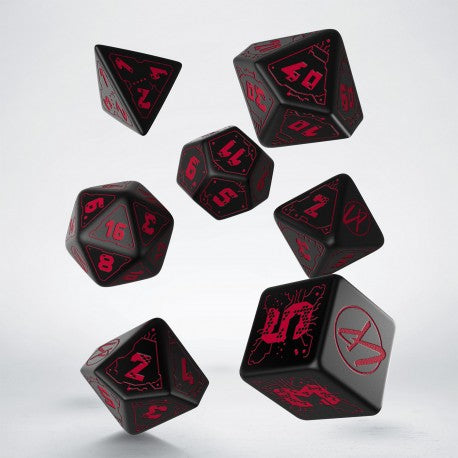 Cyberpunk RPG Dice Set