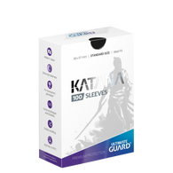 Ultimate Guard Sleeves Katana Black 100-Count