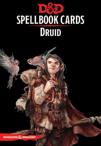 Dungeons & Dragons RPG: Spellbook Cards - Druid Deck (131 cards)