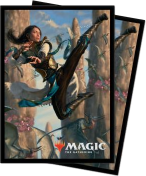 Magic the Gathering: Ikoria Lair of Behemoth Sleeves Narset (100)