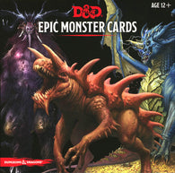 Dungeons & Dragons RPG: Epic Monster Cards (77 oversized cards)