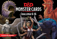 Dungeons & Dragons RPG: Monster Cards - Challenge 6-16 Deck (125 cards)