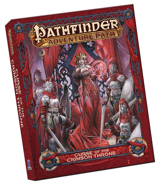 Pathfinder RPG: Adventure Path - Curse of the Crimson Throne (Pocket Edition) (1st Edition)