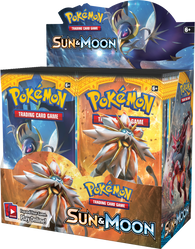 Pokemon TCG: Sun & Moon Booster Display