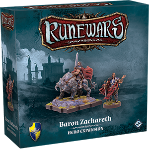 Runewars: The Miniatures Game - Baron Zachareth Hero Expansion