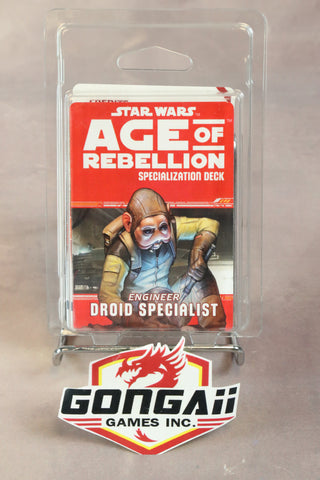 Star Wars RPG: Age of Rebellion - Droid Specialist Specialization Deck