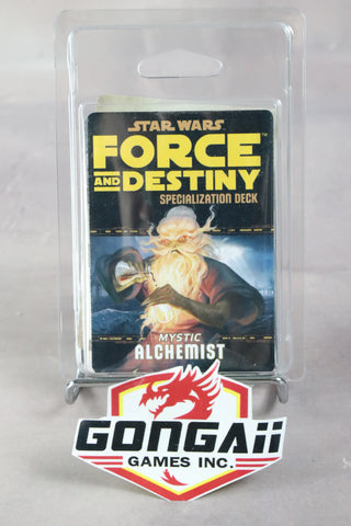 Star Wars RPG: Force and Destiny - Mystic Alchemist Specialization Deck