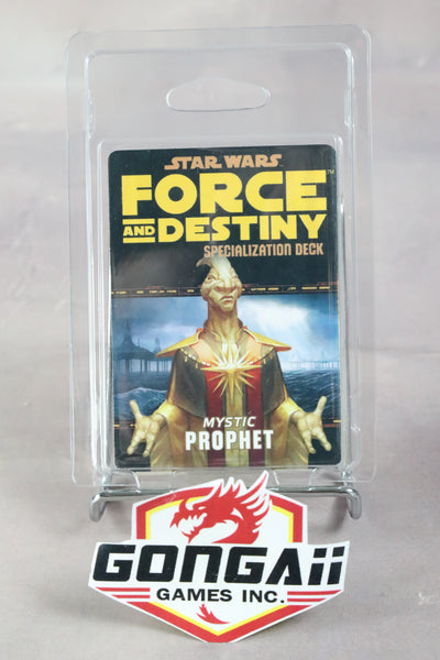 Star Wars RPG: Force and Destiny - Mystic Prophet Specialization Deck