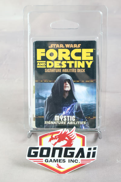 Star Wars RPG: Force and Destiny - Mystic Signature Abilities Specialization Dec
