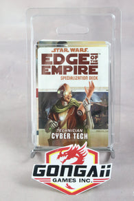 Star Wars RPG: Edge of the Empire - Cyber Tech Specialization Deck