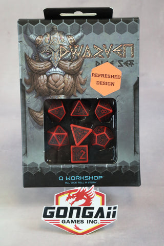Q-Worshop Dice: Dwarven Set - Select Colors