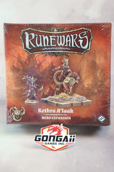 Runewars: The Miniatures Game - Kethra A`laak Hero Expansion