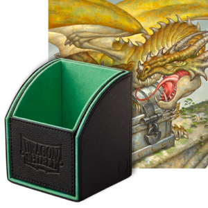 Dragon Shield: Nest Box 100 Green/Black
