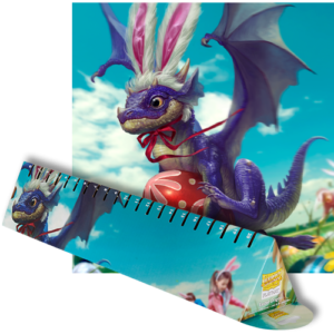 Dragon Shield: Playmat - Easter Dragons