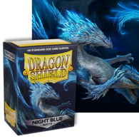 Dragon Shields: (100) Matte Night Blue