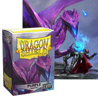 Dragon Shields: (100) Non Glare Matte Purple