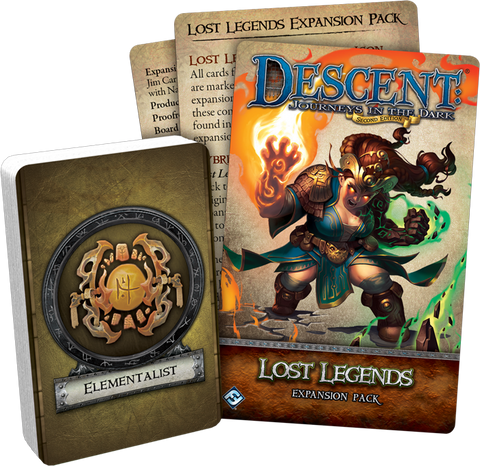 Descent Journeys in the Dark 2nd Edition: Lost Legends Expansion Pack