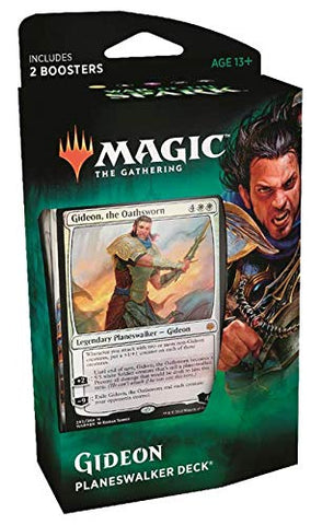 Magic the Gathering CCG: War of The Spark - Planeswalker Deck - Gideon