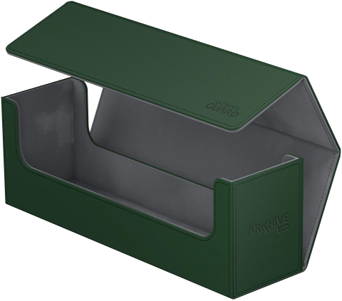 Ultimate Guard Deck Case: Arkhive 400+ Standard Size XenoSkin Green