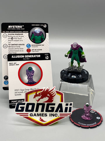Heroclix Spider-man and Venom Absolute Carnage #036 Mysterio