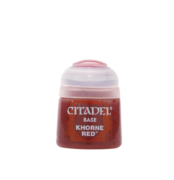 CITADEL BASE PAINT: KHORNE RED (12ML)