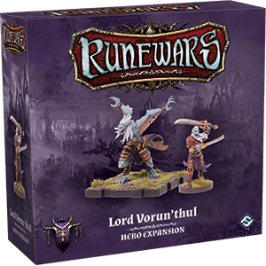 Runewars: The Miniatures Game - Lord Vorun`thul Hero Expansion
