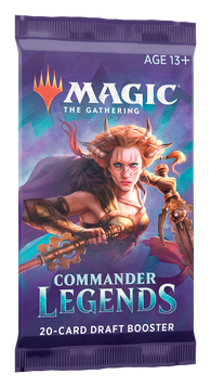 Copy of Magic the Gathering CCG: Commander Legends Booster Pack