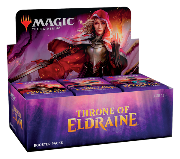 Magic the Gathering CCG: Throne of Eldraine Booster Display (36)