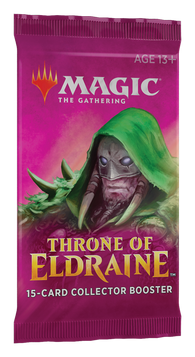 Magic the Gathering CCG: Throne of Eldraine Collector Booster