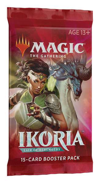 Magic the Gathering Ikoria: Lair of Behemoths Booster