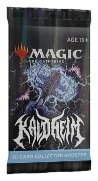 Magic the Gathering CCG: Kaldheim Collectors Booster Pack