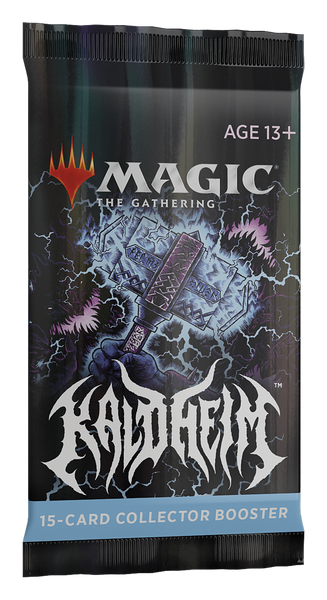 Magic the Gathering CCG: Kaldheim Collectors Booster