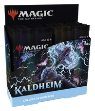 Magic the Gathering CCG: Kaldheim Collectors Booster Box