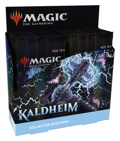 Magic the Gathering CCG: Kaldheim Collectors Booster Box *2/5/21*