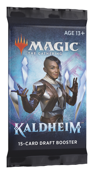 Magic the Gathering CCG: Kaldheim Draft Booster Pack
