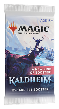 Magic the Gathering CCG: Kaldheim Set Booster Pack