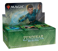 Magic the Gathering CCG: Zendikar Rising Draft Booster Box