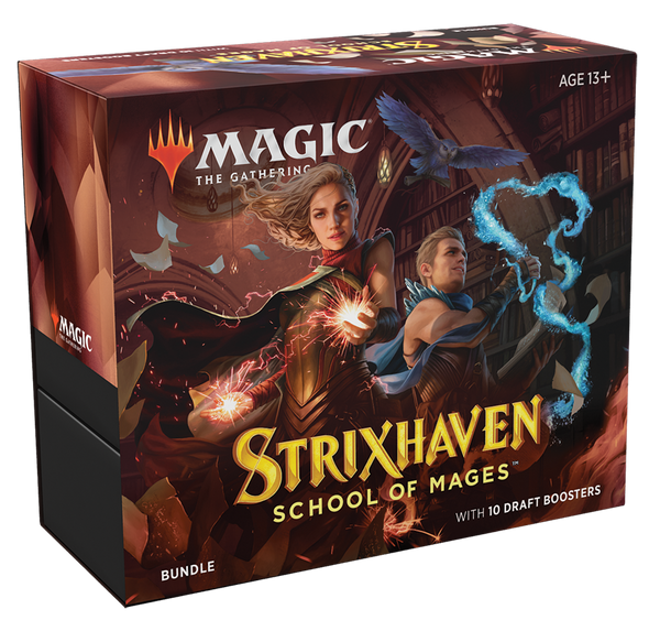 Magic the Gathering CCG: Strixhaven Bundle