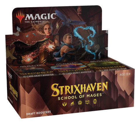 Magic the Gathering CCG: Strixhaven Draft Booster