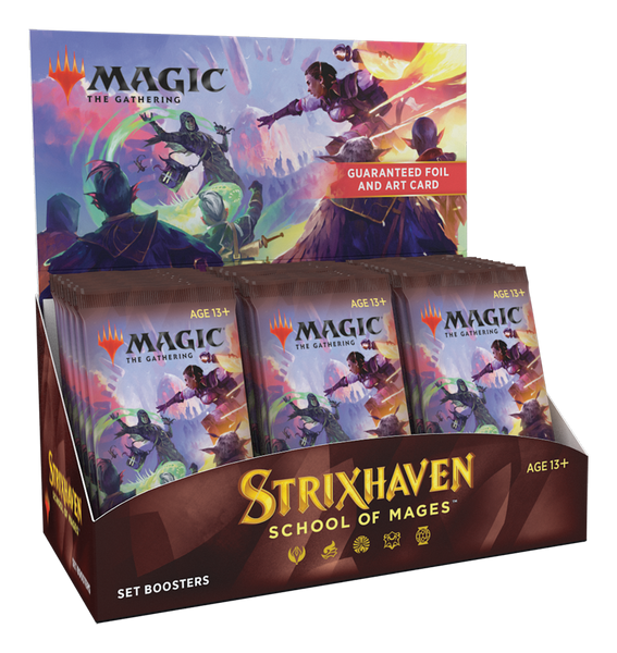 Magic the Gathering CCG: Strixhaven Set Booster