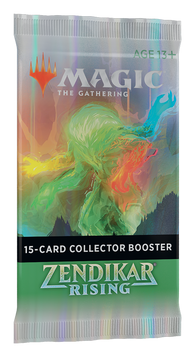 Magic the Gathering CCG: Zendikar Rising Collectors Booster
