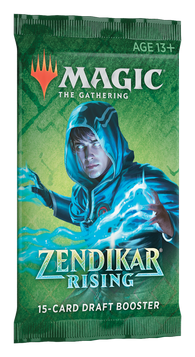 Magic the Gathering CCG: Zendikar Rising Draft Booster