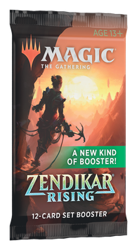 Magic the Gathering CCG: Zendikar Rising Set Booster
